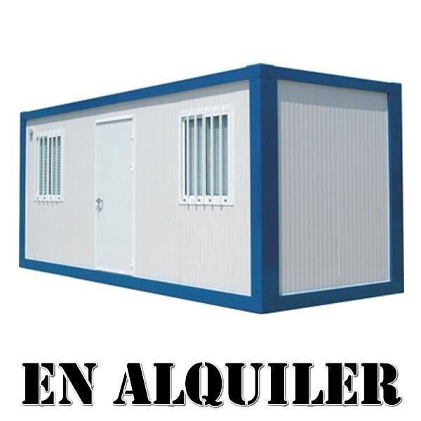 Casetas y contenedores de obra en alquiler for Casetas metalicas ofertas