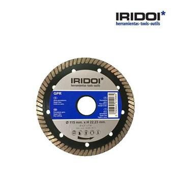 Disco IRIDOI GPR 115mm. x H 22.23 mm