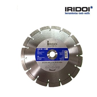 Disco IRIDOI UB 60-h 12 230mm. x H 22.23mm